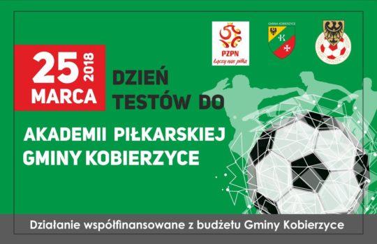 Dzień Talentu: Testy do Akademii Piłkarskiej Gminy Kobierzyce