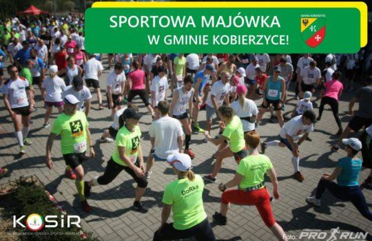 Sportowa majówka z Gminą Kobierzyce!