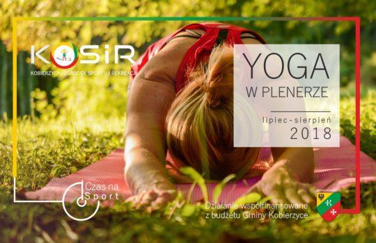 Yoga w plenerze-cykl otwartych warsztatów