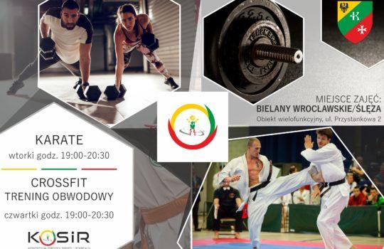 Crossfit & Karate w Bielanach Wrocławskich!