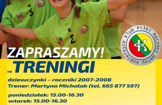 KPR Gminy Kobierzyce zaprasza na treningi!
