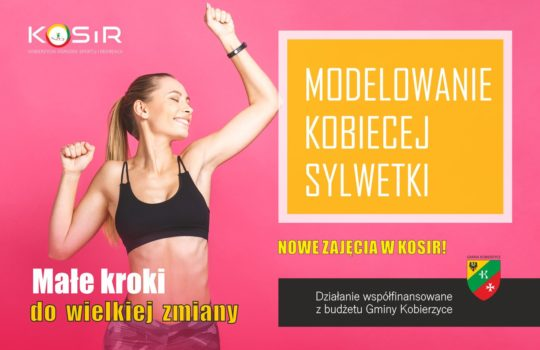Modelowanie kobiecej sylwetki- nowe zajęcia w ofercie KOSiR