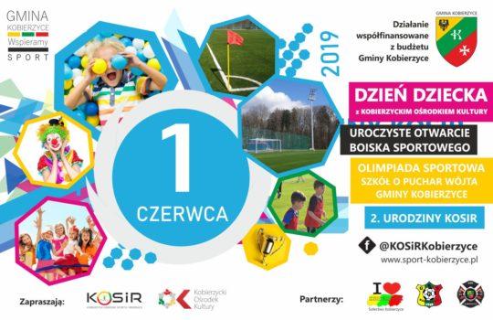 1 czerwca 2019 Multiwydarzenie sportowe na stadionie w Kobierzycach!