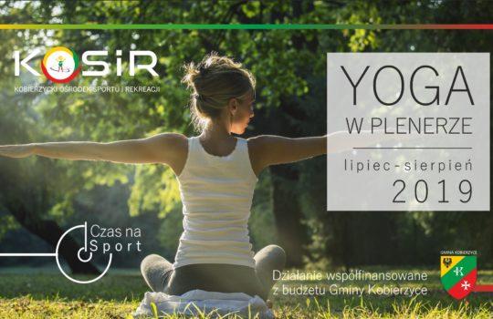 Yoga w plenerze- wakacyjne soboty z Yogą