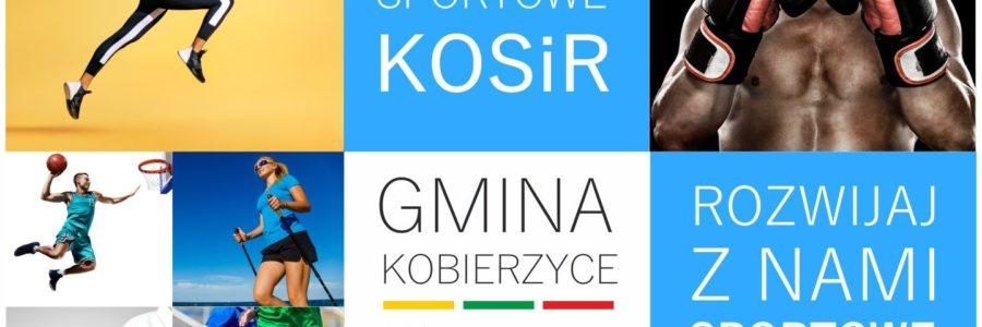 Oferta sekcji sportowych KOSIR na sezon 2019-2020