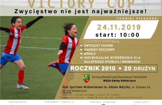 Victory Cup- turniej piłkarski dla rocznika 2010
