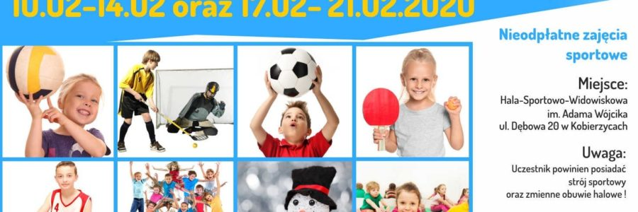Sportowe ferie zimowe dla dzieci
